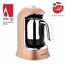 Korkmaz Kahvekolik Rosagold/Krom Otomatik Kahve Makinesi A860-06