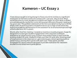 Uc Essays Examples Student Example Essay Student Example Essay 2