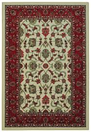 area rugs harland maxy home traditional fl ivory area rug