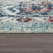 Trendy Flat Weave Rug Embellishments Multi Coloured