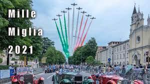 Mille Miglia 2021 - Aeronautica Militare - YouTube