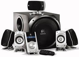 logitech computer speakers. logitech z-5500 digital surround sound speaker system computer speakers