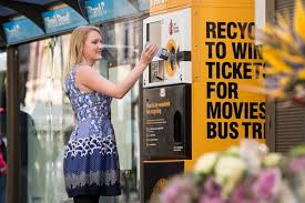 Plastic Bottle Recycling Vending Machine Magnificent Vending Machines Let You Exchange Rubbish For Rewards CNET