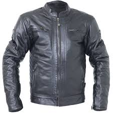 rst motorbike motorcycle vintage classic tt retro leather jacket black