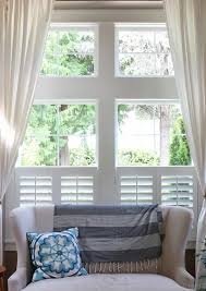 window shutters with curtains. Unique Curtains Getting Settled With Shutters In Window With Curtains R