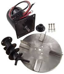 salt spreader repair kit for meyer buyers motor auger meyer buyers salt spreader motor kit complete spinner auger hub lead wire