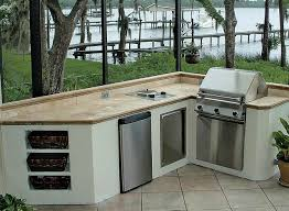 Building An Outdoor Kitchen 100 Outdoor Kitchen Design Ideas Photos Features