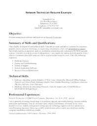 Computer Technician Resume Objective Beauteous Resume Examples For Technicians Resume Veterinary Technician Sample