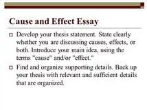 cause and effect essay assignment argumentative essay about e cause and effect essay assignment