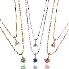 choose from diamond necklaces birthstone garnet amethyst aquamarine black diamond emerald moonstone ruby peridot sapphire pink tourmaline citrine tanzanite