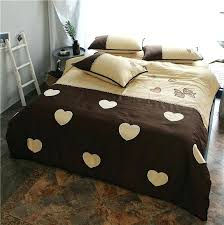 brown and pink bedding pink brown cotton soft bedclothes girls cute bedding sets queen king size brown and pink bedding