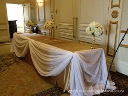 Wedding Decorating, wedding decorators, banquet decor, head table .