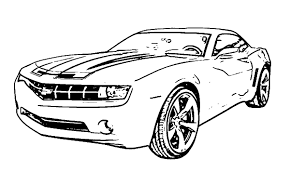 enchanting camaro coloring page pattern pages of inside
