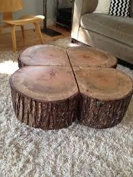 tree stump furniture. Shamrock Coffee Table On Wheels Tree Stump Furniture S
