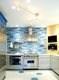 blue kitchen decor attractive blue kitchen idea with large refrigerator and other electric kitchen appliances white