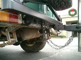 Receiver Trailer Tow Hitch Toyota Land Cruiser FJ40 hard top ...