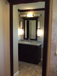 ideal bathroom vanity lighting design ideas. Bathroom Vanity Lighting Using Traditional Design And Small Ideas Decorated With Concrete Flooring Style Ideal C
