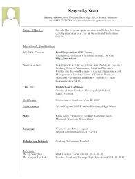 Fine Dining Server Resume Waiter Resume Example Resume Examples Fine Dining Waiter Resume