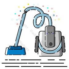 yếu tố máy hút bụi phong cách mbe phẳng thương mại vector   Công cụ đồ họa  AI Tải xuống miễn phí - Pikbest