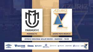 Azuriz - (02 12) MARINGÁ FC X AZURIZ PATO BRANCO - FINAL DIVISÃO DE ACESSO  2020 - VOLTA