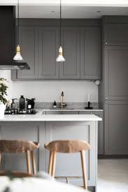 Small Dark Kitchen Design 25 Best Ideas About Contemporary Small Kitchens On Pinterest