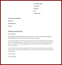 how to write a motivational letter bursary application letter sample