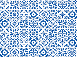 Pattern In Spanish Cool Spanish Tile Pattern larger size fabric elizajanecurtis