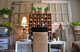 items home office. Huge Crusty Barn Doors Create A Cozy Backdrop. Items Home Office
