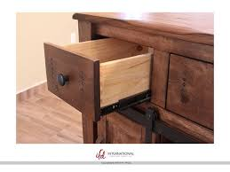 Kitchen Furniture Direct International Furniture Direct Three Drawer Kitchen Island With