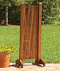 portable expanding fence backyard