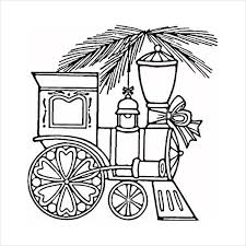 Print out kids train coloring page printables. Coloring Pages Christmas Train Coloring Page
