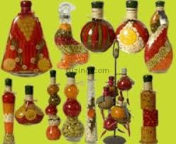 Decorative Vinegar Bottles Fruit Vinegar Decorative Bottles 2