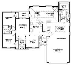 interesting house plans bedrooms bedroom colonial home plan unusual whimsical