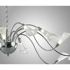 modern italy 16 crystal flowers chandelier 10243