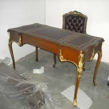 Vintage Wooden Office Table  Exporters India