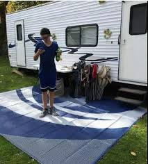 china pp 9x12 reversible outdoor mat rv trailer camping patio rugs china tent uv mats camping