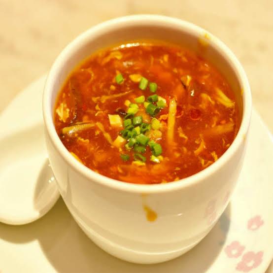 Mutton Hot Sour Soup
