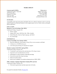 How To Make An Resumes How To Make A College Student Resume How To Make Resume College