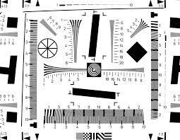 Camera Chip Chart Digital Camera Resolution Test Procedures