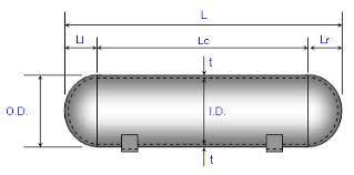 Pressure Vessel Design Formula And Calculators Engineers Edge