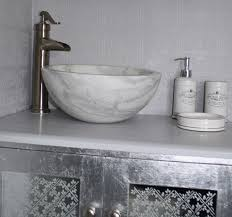 small vessel sinks. Small Vessel Sink Bowl - Honed White Marble Contemporary-bathroom Sinks E