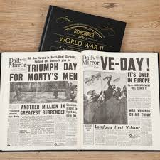 Old West Newspaper Template World War Two Newspaper Book