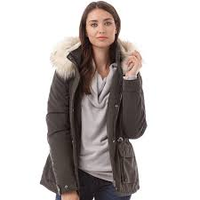 only womens starlight fur parka peat