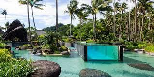 Brilliant Cool Swimming Pools Laucala Island Resort Pool Fiji With Impressive Design