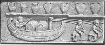 Harbour and River Boats of Ancient Rome