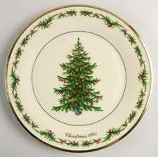 Lenox Christmas Trees Around The World Plate Mexico 1999  Holiday Lenox Christmas Tree Plates