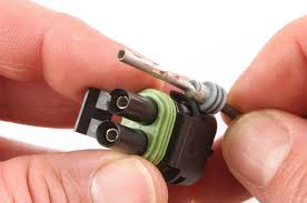 electrical connectors no truck should be out hot rod network i it easiest to insert the terminal first then push the wire seal into it