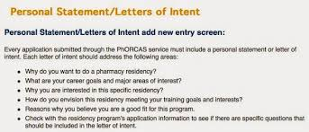 Pharmacy Residency Letter Of Intent | Tomyumtumweb.com
