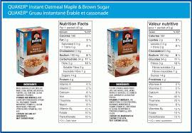 lose 10 pounds fast this week with calories in quaker maple and with regard to quaker oatmeal food label