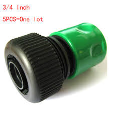 3 4 inch garden hose. 5PCS 3/4 Inch Water Gun Quick Connector Garden Hose Pipe 3 4 A